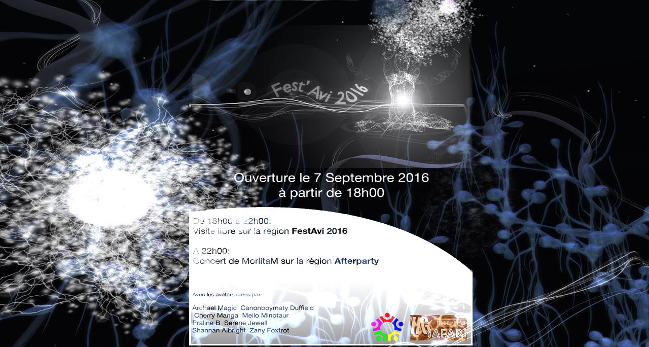 Fest'Avi 2016 - Ouverture en septembre