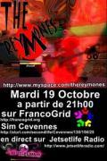 Reymones concert flyer